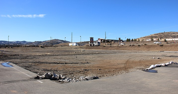 Native Grill & Wings has submitted plans to build a location on this lot in Prescott Valley's Crossroads shopping center.