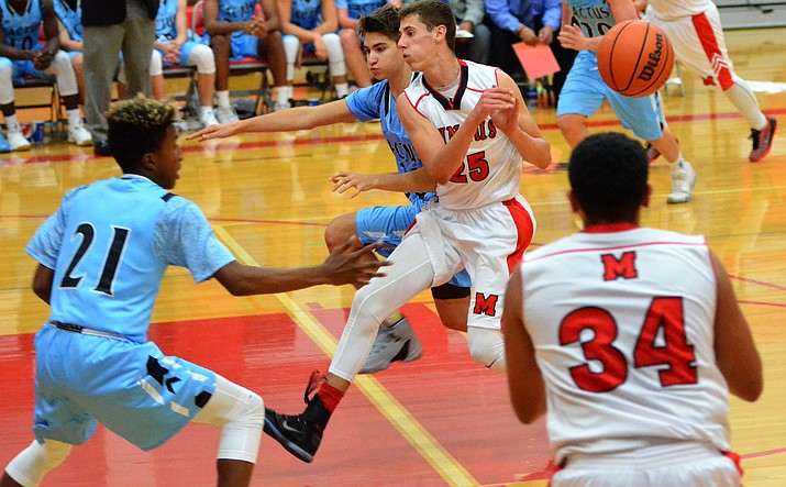 Mingus sophomore Chaz Taylor led Marauder scorers witth 19 points Tuesday. VVN/Vyto Starinskas