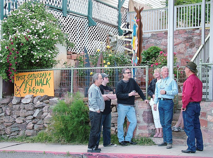 The Jerome Art Walk is from 5 to 8 p.m. Saturday, Jan. 7, at 25 galleries and studios in Jerome.