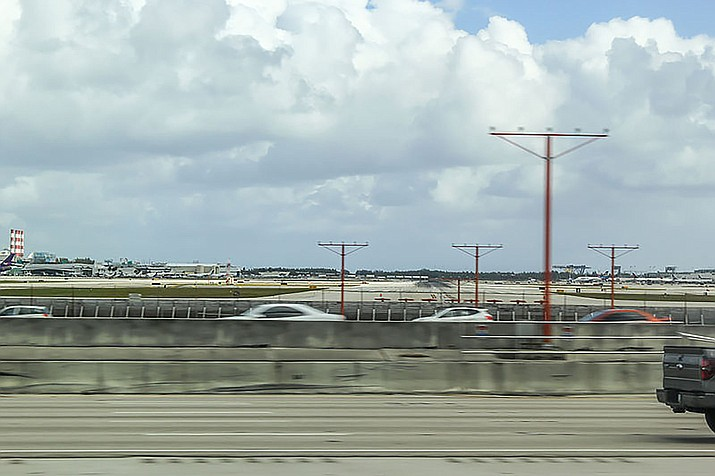 The Fort Lauderdale airport.
