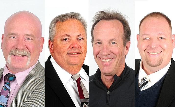 Tim Wiederaenders, Ken Sain, Les Stukenberg and Brian Bergner
