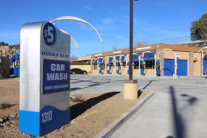 Ocean Blue Car Wash will give away free premier washes Jan. 13-17 as part of its grand opening celebration.