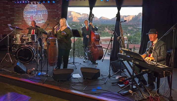 Music by the Classics features Jeannie Carroll (vocals), Eric Williams (vocals and keyboard), Steve Douglas (upright bass) and George Bein (drums). The band presents classics and standards.