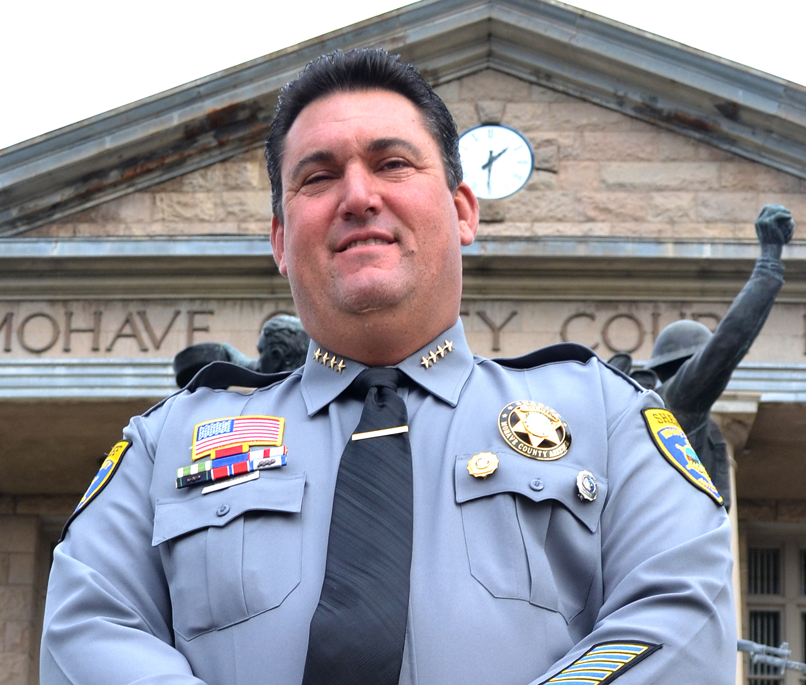 Sheriff Doug Schuster Ready For Patrol Kingman Daily