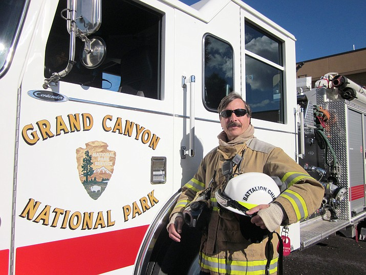 Grand Canyon Fire Battalion Chief Paul Glazer retired in December after nearly three decades at the park.