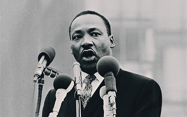 Martin Luther King Jr. Day of Service, Prescott, Prescott Valley, and Chino Valley, 1 to 4 p.m. Jan. 21. Register here: http://signup.com/go/AXOmTWX