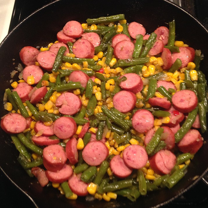 Smoked Sausage and Veggies is the Cooking with Diane recipe for Jan. 11, 2017 in the Prescott Valley Tribune and Chino Valley Review.
