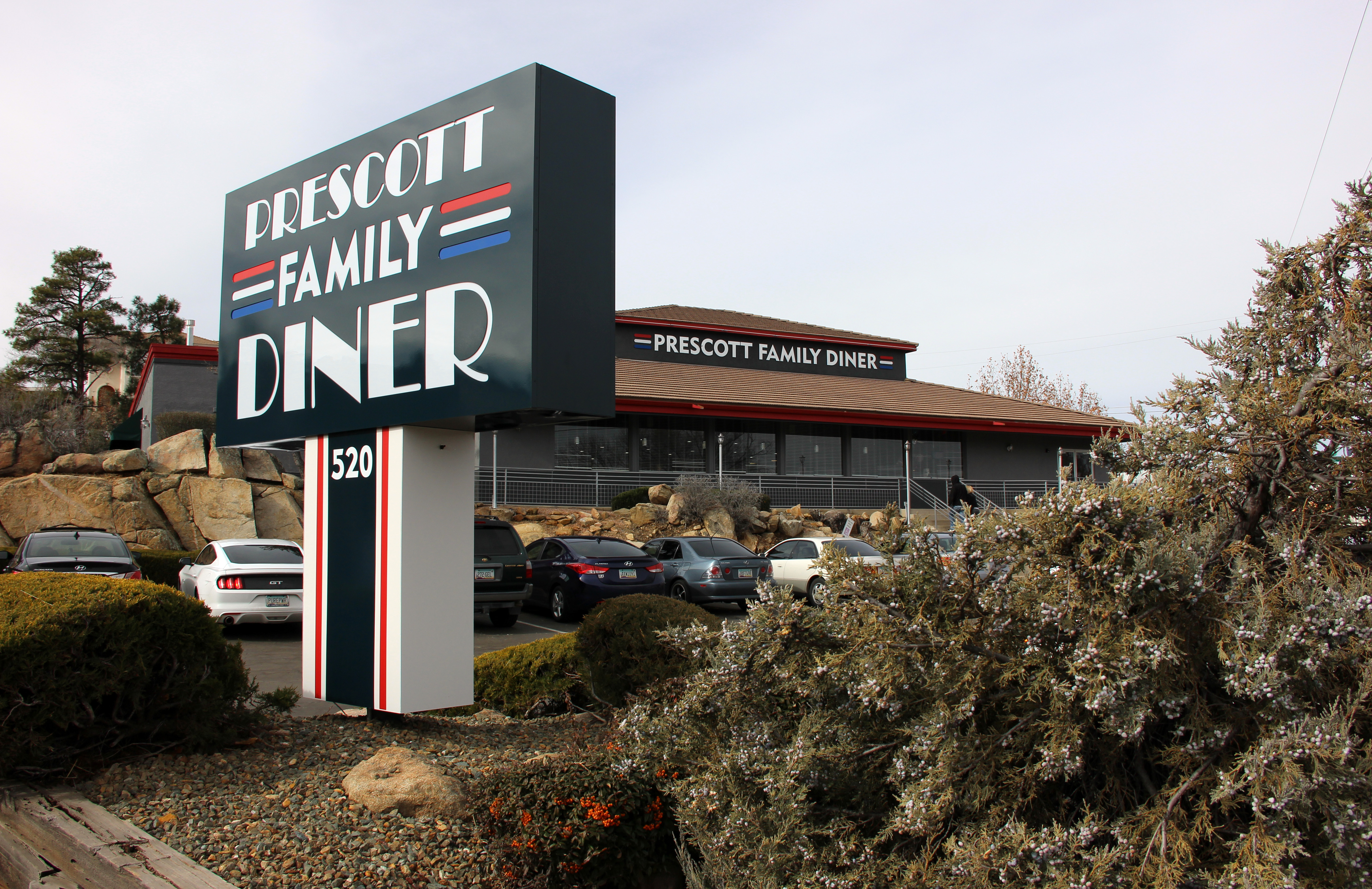 Chew on this prescott family diner a yankee diner the for Family diner