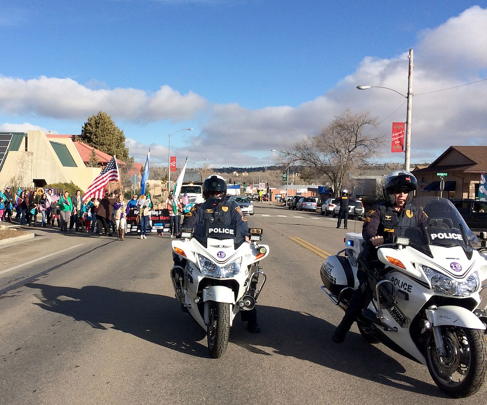 Prescott's Martin Luther King, Jr., March on Jan. 16. through downtown Prescott