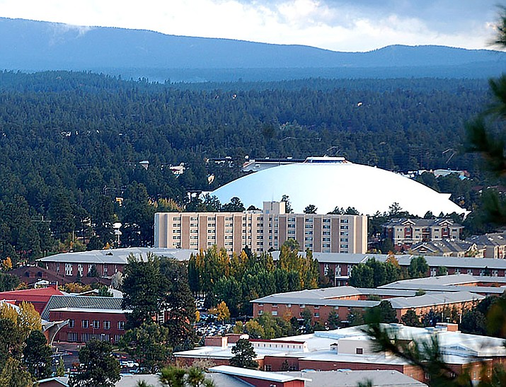 The Northern Arizona Campus in Flagstaff. Students living in campus or off-campus housing anywhere in the state would be banned from voting in state elections if a lawmaker's bill passes this legislative session.