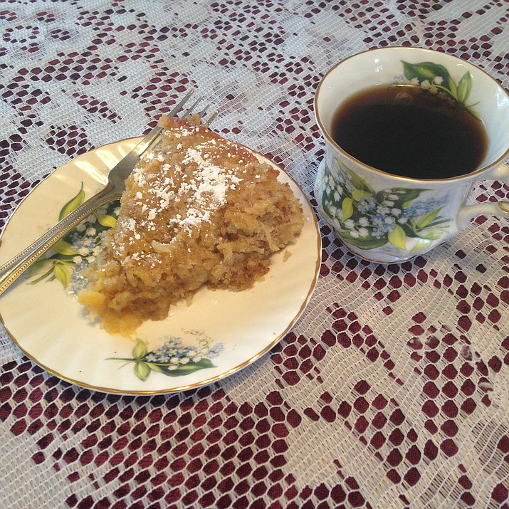 Hawaiian Coffee Cake is the Cooking with Diane recipe for Jan. 18, 2017.