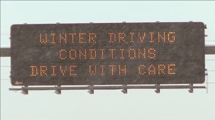 Highway conditions can deteriorate quickly during severe weather as snow accumulates and drivers struggle, and closures can happen suddenly and be prolonged.