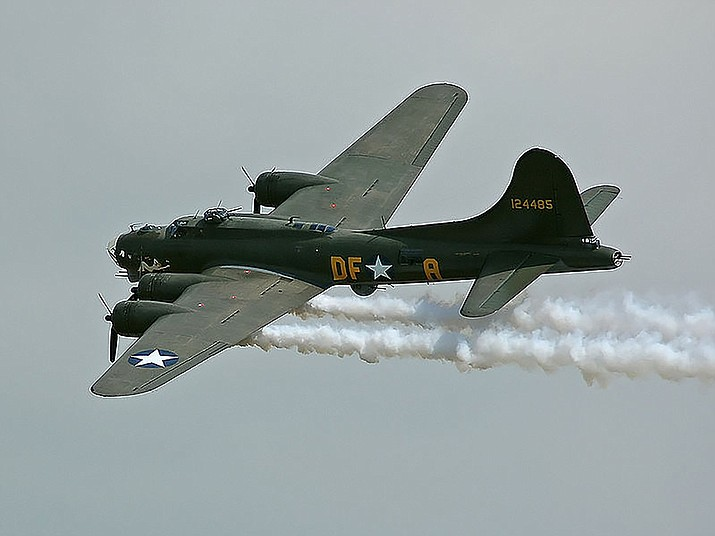 Kogo/Courtesy/ https://commons.wikimedia.org/wiki/File:B-17G-105_44-85784-Sally_B.jpg