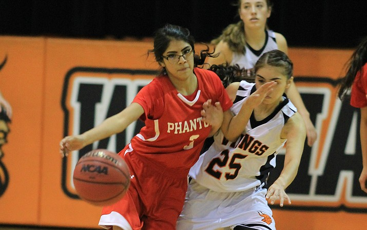 The Phantoms have won eight straight games since their last defeat by Mogollon Dec. 16.