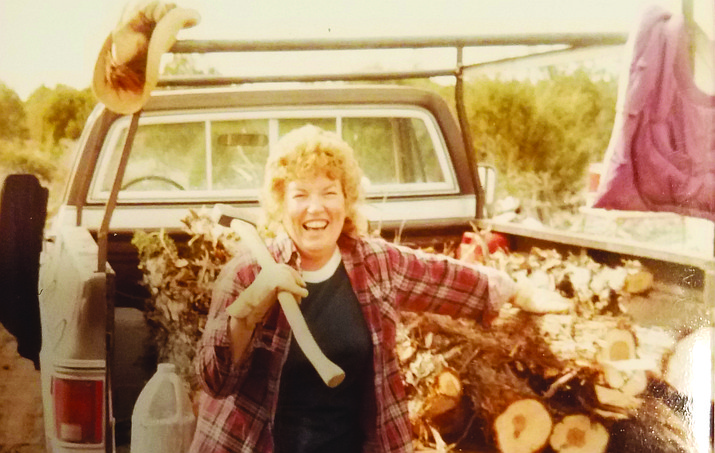 """Norma Jean Bennett, better known as """"Birdie"""" from Birdie and Sons Barber Shop here in Chino Valley, was a pillar of our community."""