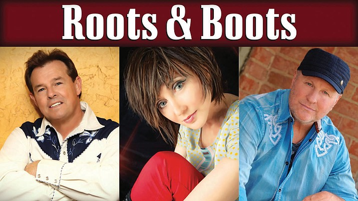 Roots & Boots, featuring Sammy Kershaw, Pam Tillis and Collin Raye, 7:30 p.m. Saturday, Jan. 28, at Yavapai College Performing Arts Center.