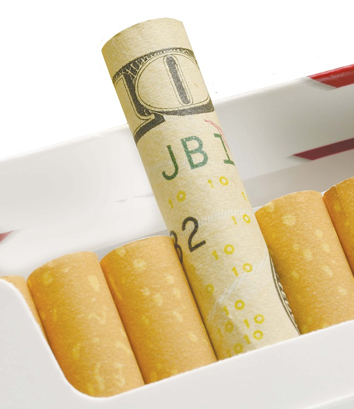 Over a lifetime, smokers in Arizona spend $1,631,475 on the habit, according to WalletHub.