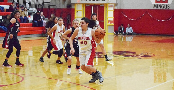 It was Senior Night Friday for the Marauder girls and the last home game for Mingus' Emily Bauers, who Coach Frank Nevarez said has a never-give-up attitude. VVN/James Kelley