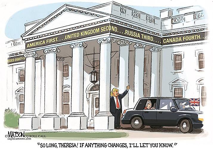 Editorial cartoon: Jan. 31, 2017