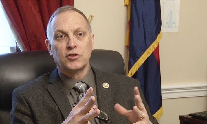 "The president's order suspending refugee admissions divided Arizona lawmakers, but Rep. Andy Biggs, R-Gilbert, defended it as a ""fairly temperate measure"" to protect Americans. (Photo by Anthony Marroquin/Cronkite News)"