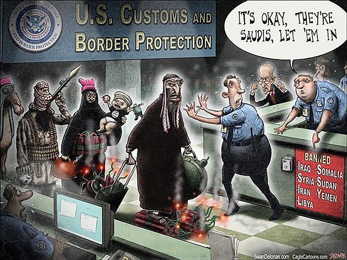 Editorial cartoon: Feb. 1, 2017