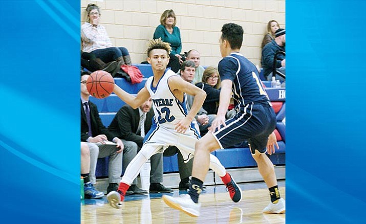 Camp Verde's Teson Parker (22). Friday the Camp Verde boys play host to Northland Prep. Game time is 7 p.m. (VVN/Bill Helm)