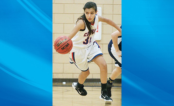 Camp Verde's Amanda Lozanilla. Friday the Camp Verde girls play host to Northland Prep. Game time is 5:30 p.m. (VVN/Bill Helm.