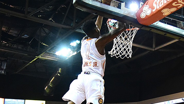Former NAZ Sun finishes second in dunk contest
