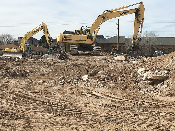 Ground has been broken for construction of Kingman's next hotel, a Hilton property.