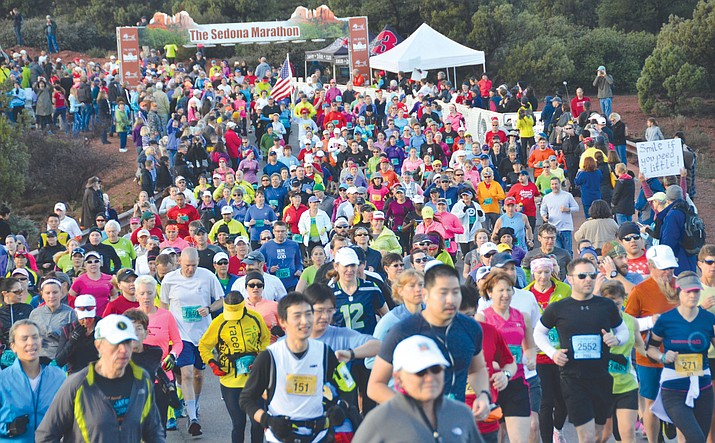 Saturday's event starts with the marathon at 9 a.m., followed by the half marathon, 10K and 5K.  (VVN file photos)