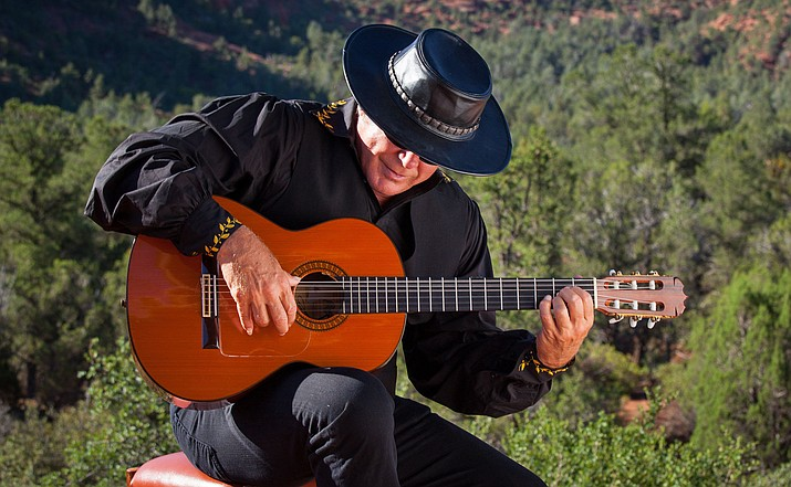 Saturday, Feb 11, Esteban will perform with his daughter Teresa Joy on violin, Joe Morris on drums and Raul Yanez on keys.