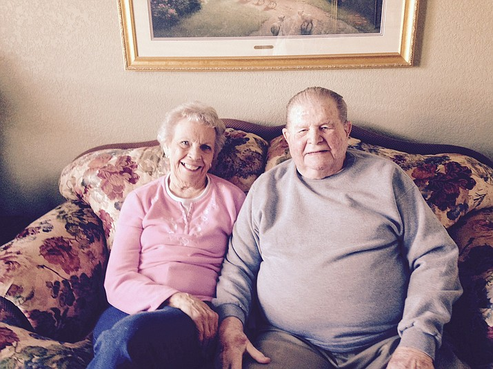 Denny and Janet Parsons were married in 1953 and have been married for 63 years.