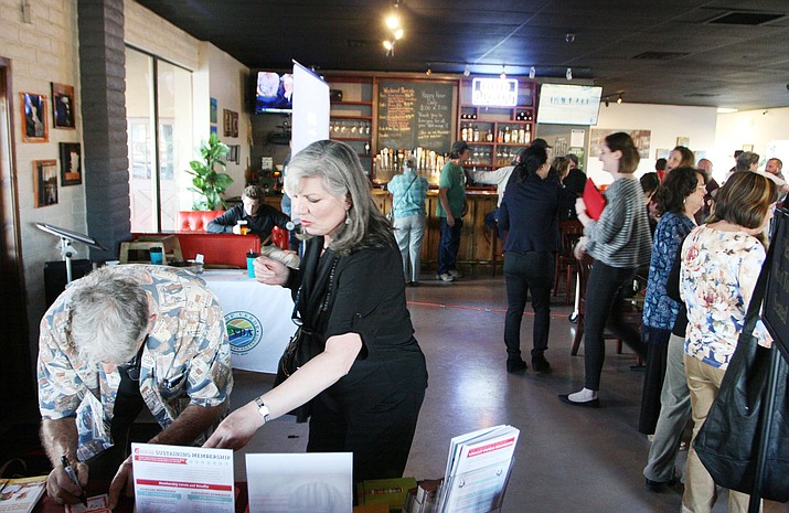 More than 100 people attended the Camp Verde Business Alliance's mixer Feb. 8 at J.T. Bistro in Camp Verde.