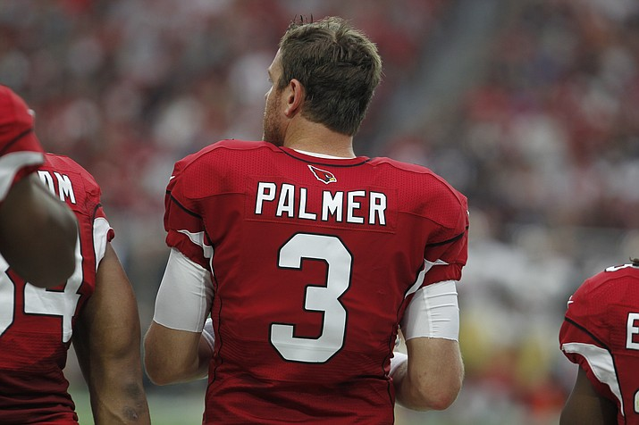 Arizona Cardinals quarterback Carson Palmer during an NFL game Nov. 13, 2016, in Phoenix. (Ricardo Arduengo/Associated Press, File)