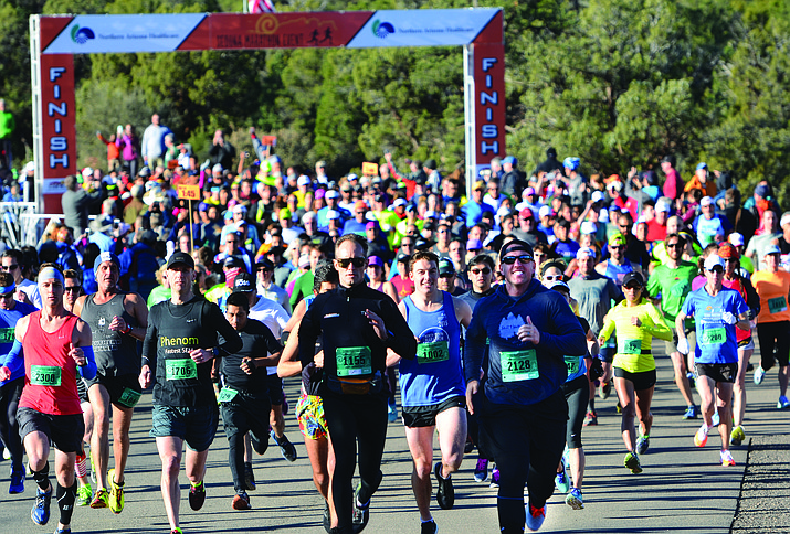 Saturday's 12th annual Sedona Marathon enjoyed its largest field of registrants to date -- 3,500, enjoyed the scenic-yet-difficult course.