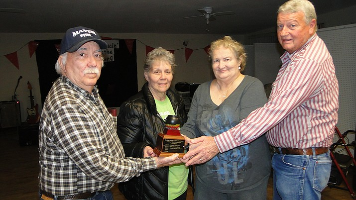 The winners of the CLCA Cook-Off, held Saturday, Feb. 4 in Cordes Lakes.