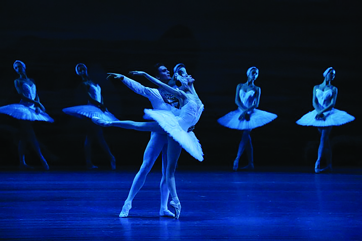 "The Bolshoi Ballet performing ""Swan Lake"""