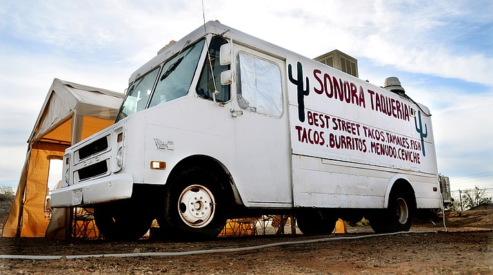 Food truck owners though out the county, in Prescott in particular, have been looking to more easily do business. However, current code-enforced limitations make that difficult.  (VVN/Vyto Starinskas)