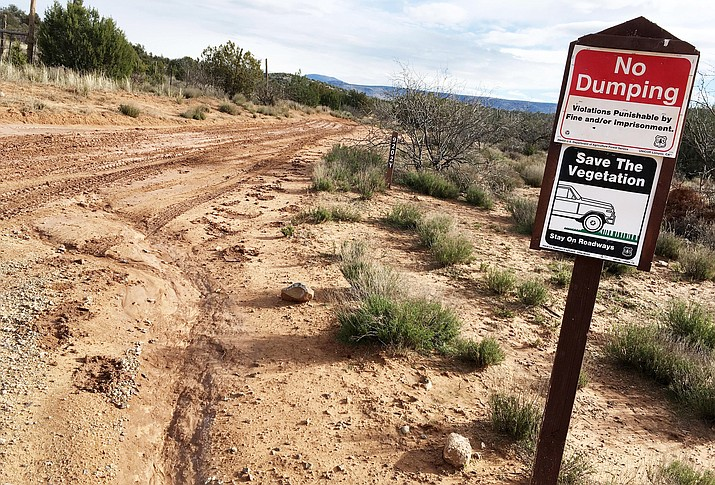 Beaver Creek Trails Coalition is making plans to begin construction of the Wikiup Mesa trail system in the Golden Gulch of Rimrock. The Forest Glen Trailhead is located off Forest Glen Road in Lake Montezuma. (Photo by Bill Helm)