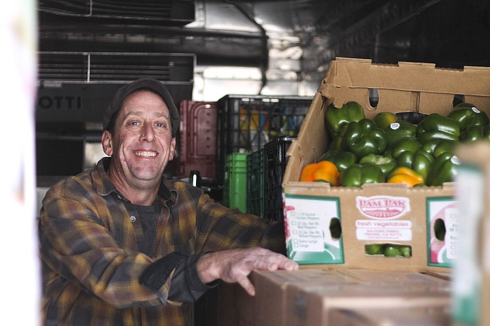 Williams Food Bank Director Guy Mikkelsen said over 190 pounds of food was donated and distributed in 2016.