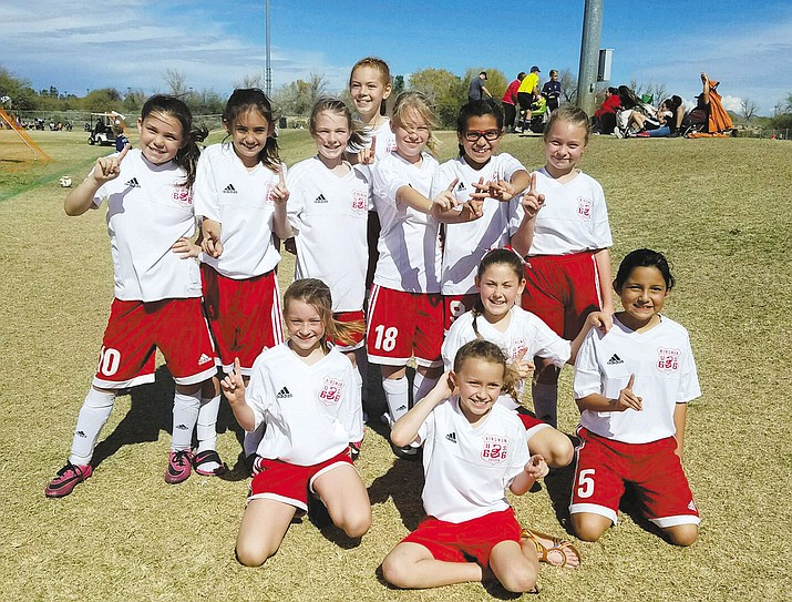 The Kingman 11-and-under girls team, ranked 40th in Arizona, won the Desert Classic  going a perfect 4-0 in Phoenix on Saturday and Sunday.