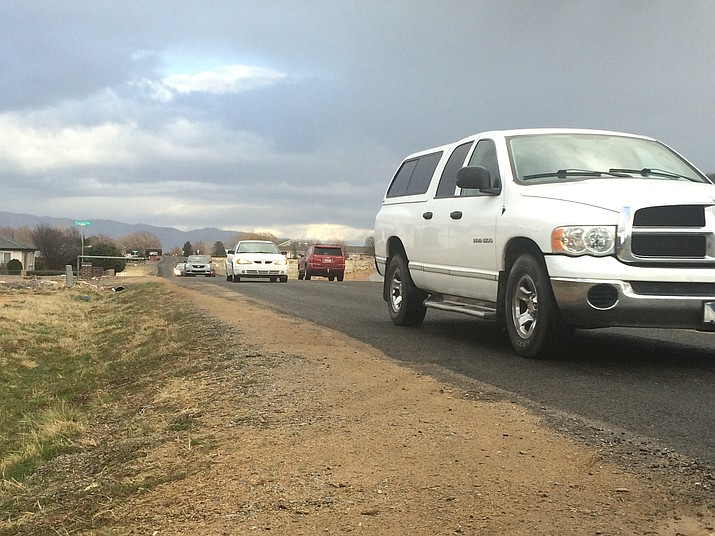 The Town of Prescott Valley is interested in applying for a community development block grant for street improvements and to add a sidewalk onto the north side of Long Look Drive.