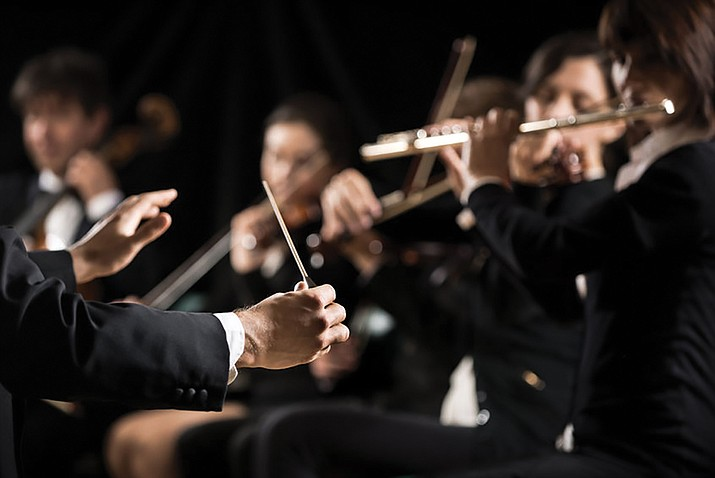 "The Prescott POPS Symphony presents ""Meet me … at the Symphony"" at 3 p.m. Sunday, Feb. 19  at the Yavapai College Performing Arts Center, 1100 E. Sheldon St."