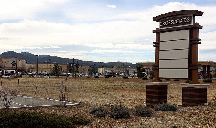 The empty lot inside Prescott Valley Crossroads that the Town of Prescott Valley said would be filled by Chick-fil-A remains undeveloped more than two years after building permits were first requested by the fast food company.