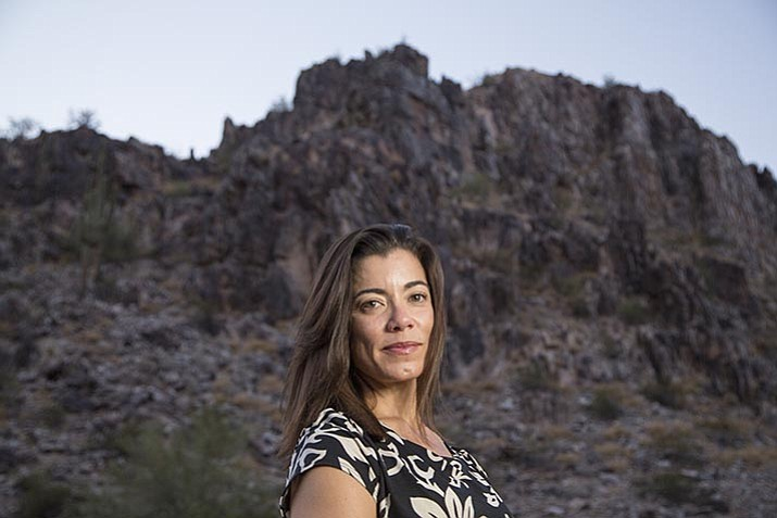 """Fernanda Santos is the author of """"The Fire Line: The Story of the Granite Mountain Hotshots and One of the Deadliest Days in Americans Firefighting."""""""