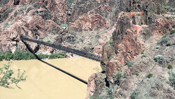 Kaibab Suspension Bridge closed to foot traffic for repairs; detours in place