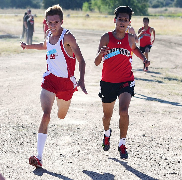 Mingus senior Ryan Alexander was the Marauders' top performer during the fall cross country season and is expected to provide the same strength to the Mingus track team this spring. Coach Yancey DeVore said Alexander is the team's top performer at 400 meters all the way up to 3200 meters. VVN file photo
