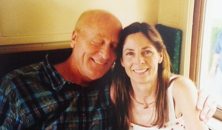 Dr. Jeff Miller and his late wife, Dana.