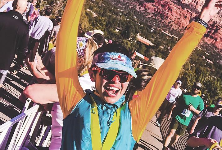 Magdalena in a Sedona marathon