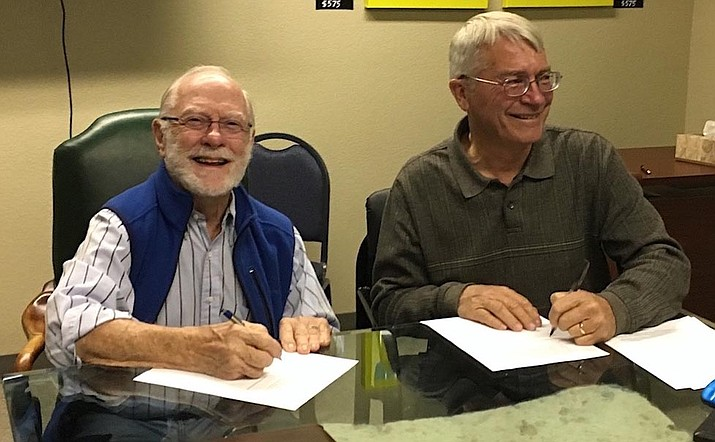 "Brent Bitz (left) and Chip Norton will give a free presentation March 7 on ""Merger of Friends and the Partnership: A Better Future for the Verde River"" at the Yavapai County Administration Building, 10 South 6th Street, Cottonwood."